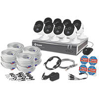 Swann SODVK-845808-UK 8-Channel Wired CCTV Kit & 8 Cameras