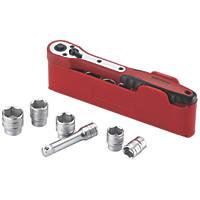 "Teng Tools M3812N1 3/8"" Drive Metric Socket Set 12 Pieces"