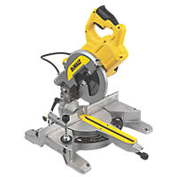 DeWalt DWS777-GB 216mm Single-Bevel Sliding  XPS Compound Mitre Saw 240V