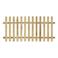Grange Palisade Picket Fence Panels 1.8 x 0.9m 4 Pack