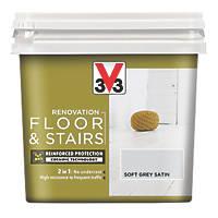 Liberon V33 Floor & Stair Paint Loft Grey 750ml