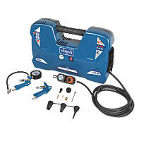 Scheppach Air Case 2Ltr Electric Portable Air Compressor 230V