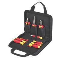 Wiha Electricians VDE Tool Kit 10 Piece Set
