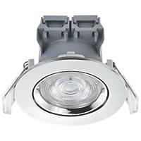 LAP  Adjustable  LED Downlight Chrome 5W 370lm