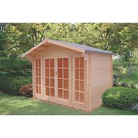 Shire Churston Log Cabin 2.9 x 1.7m