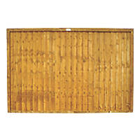 Forest Closeboard  Fence Panels 1.83 x 1.22m 7 Pack