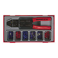 Teng Tools Crimping Tool & Terminal Set 121 Pieces