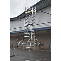 Lyte  Single Depth Aluminium Folding Work Tower System 6.1m