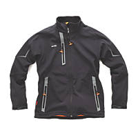 "Scruffs Pro Softshell Jacket  Black  Small 38-40"" Chest"