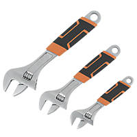 Magnusson Adjustable Wrench Set 3 Pieces