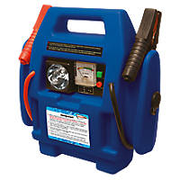 Streetwize 500A Promo Power Pack w/ Air Compressor 12V
