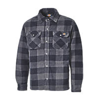 "Dickies SH5000 Portland Shirt Padded Shirt Blue / Black 20.5"" 44"" Chest"