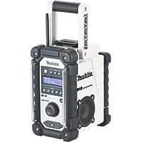 Makita DMR110W DAB+ / FM Cordless Site Radio 12 / 18V