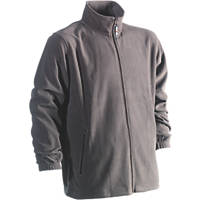 "Herock Darius Fleece Jacket Grey X Large 50½"" Chest"