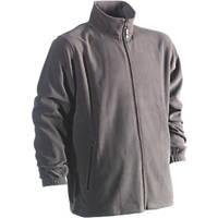 """Herock Darius Fleece Jacket Grey Extra Large 50½"""" Chest"""