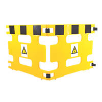 Addgards Handigard 2-Panel Barrier Yellow / Black