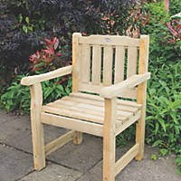 Forest Rosedene Timber Chair 640 x 600 x 900mm