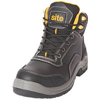 Site Froswick   Safety Boots Black Size 12