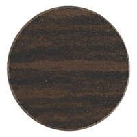 Timco Screw Caps African Hardwood Plastic 13mm 112 Pack