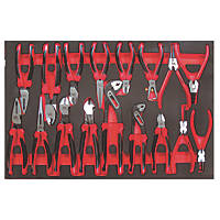 Teng Tools Mega Bite Pliers Set 17 Pieces