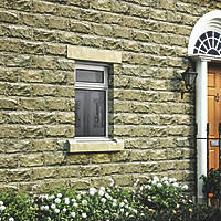Jeld-Wen Stormsure Top Opening Double-Glazed Casement White Painted Timber Window 625 x 895mm