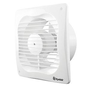 Xpelair VX100(AWW) 16W Bathroom Extractor Fan White 240V ...