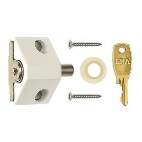 Era 100 12 Patio Push Lock White Patio Door Locks