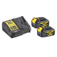 DeWalt DCB115M2-GB 18V 4.0Ah Li-Ion XR Battery Starter Pack
