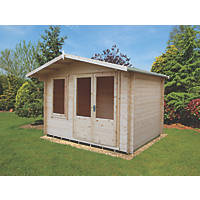 Shire Berryfield Log Cabin 11 x 8'