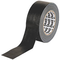 Diall Cloth Tape 42 Mesh Black 50mm x 50m
