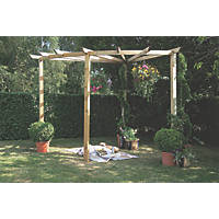 Forest Radial 90 Pergola  2750 x 2750 x 2400mm