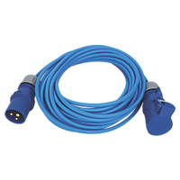 Carroll & Meynell 230-240V Extension Lead Blue 1.5mm x 14m