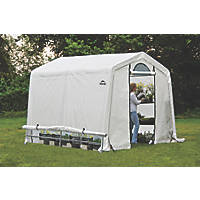 Rowlinson ShelterLogic Greenhouse 8' x 8' (Nominal)