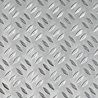 Aluminium Checker-Plated Sheet 600 x 750 x 1.5mm