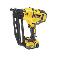 DeWalt DCN660P2-GB 63mm 18V 5.0Ah Li-Ion XR Brushless Second Fix Cordless Nail Gun