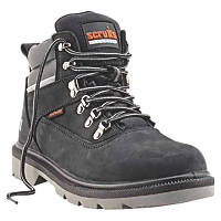 Scruffs Palermo Safety Boots Black Size 9