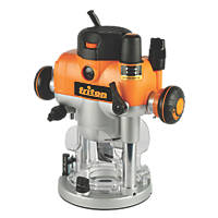 "Triton TRA001 2400W ½""  Electric Dual-Mode Precision Plunge Router 240V"