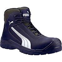 Puma Cascades Mid Metal Free  Safety Boots Black Size 8