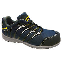 Stanley Globe Safety Trainers Navy Blue Size 8