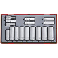 "Teng Tools TT3816 3/8"" Drive Socket Set  16 Pcs"