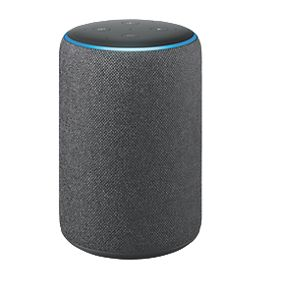 Amazon Echo Plus 2nd Gen Voice Assistant Charcoal Fabric Wifi