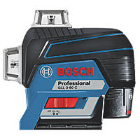 Bosch GLL 3-80 C Professional Red Self-Levelling Multi-Line Laser Level