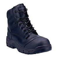 Magnum Magnum Roadmaster Metal Free  Safety Boots Black Size 13