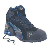 Puma Rio   Safety Trainer Boots Black Size 8