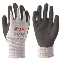 Towa ActivGrip Omega Cut-Resistant Gloves Black / Grey Medium