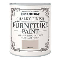 Rust-oleum Universal Furniture Paint Chalky Hessian Beige 750ml