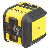 Stanley Cubix STHT77498-1 Red Self-Levelling Cross-Line Laser Level
