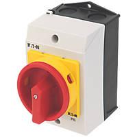 Eaton T0-2-1/I1/SVB 3-Pole Padlockable Rotary Isolator 20A