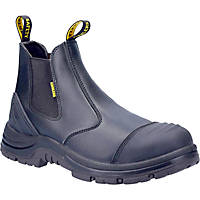 Amblers AS306C Metal Free  Safety Dealer Boots Black Size 8