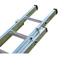 Lyte 2-Section Aluminium Extension Ladders 8.76m